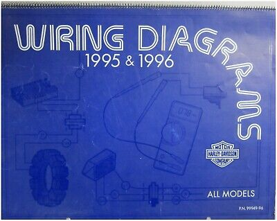 "harley davidson used ""big wiring diagram service book"" all models 9596  9994996  ebay"