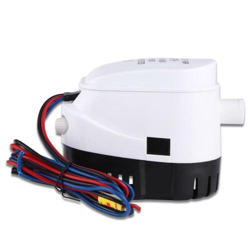 12V 750GPH Automatik Bilge Pumpe Bilgenpumpe Bilgepumpe Lenzpumpe für Boot BEST