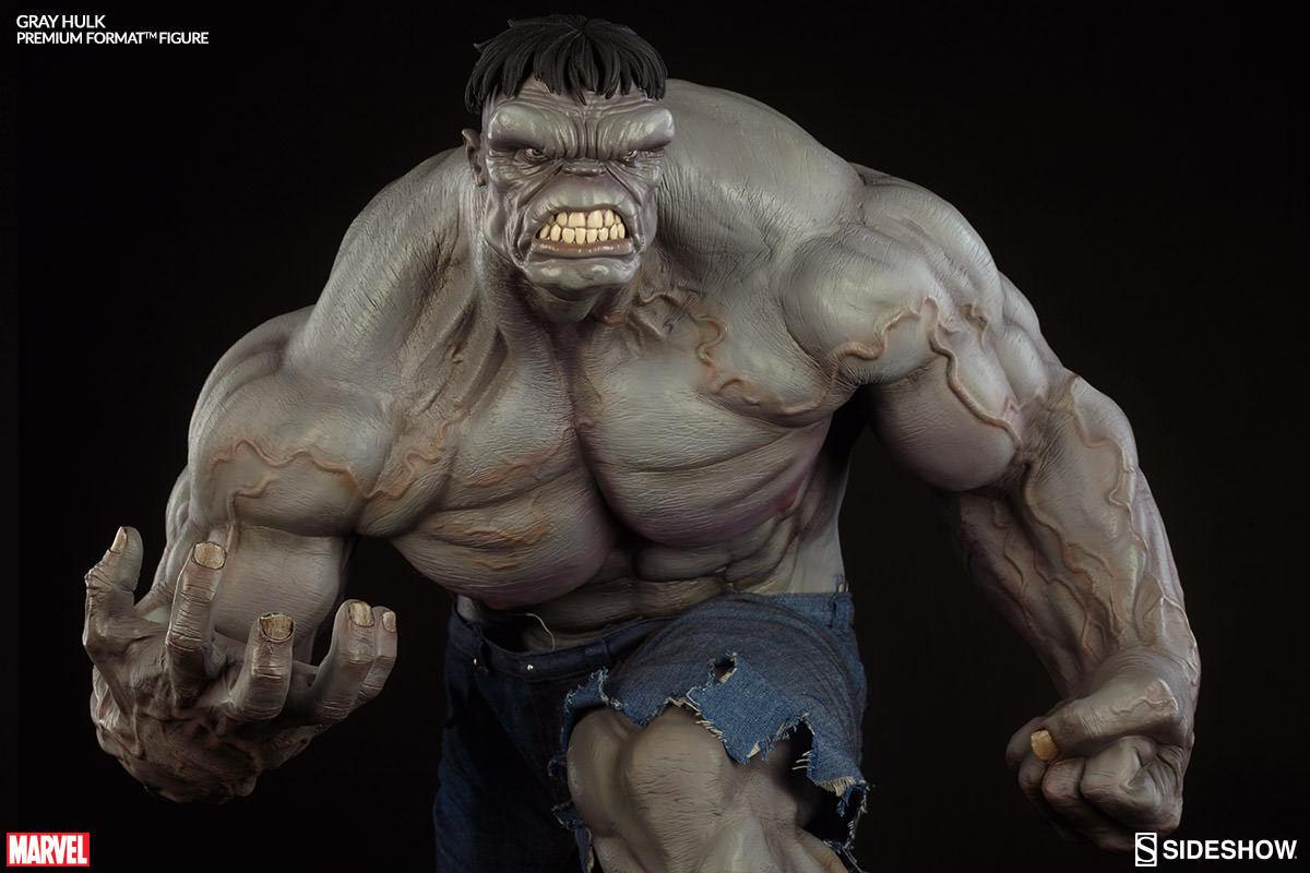 Gris Hulk  Premium Format Figure  baja le 281000  Sideshow  MIB