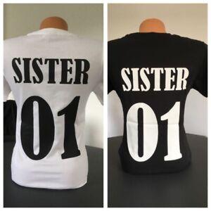 Freundinnen etc. Sweatshirt Hoodie SISTER /& SISTER für Schwestern