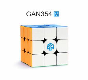GAN 354M 3x3x3 Magnet Magnetic Speed Magic Cube Puzzle GANCUBE UK STOCK