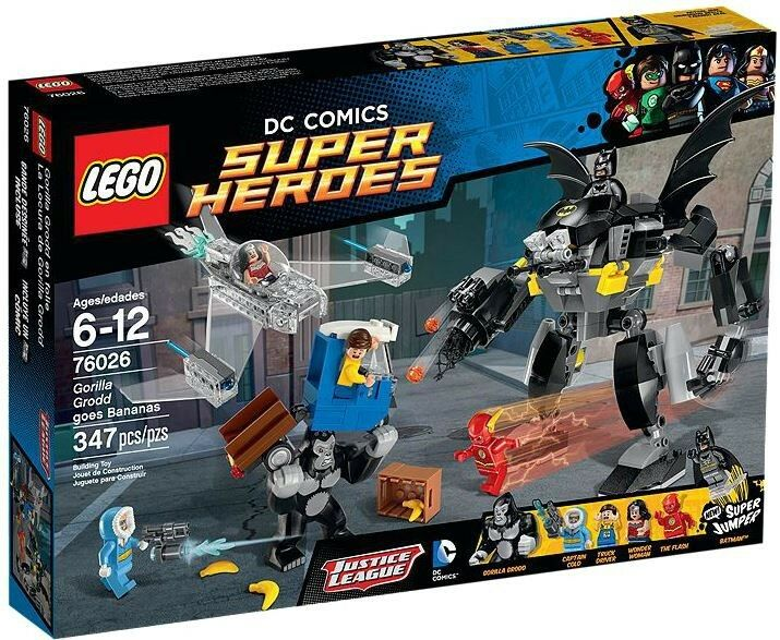LEGO DC Super Heroes Gorilla Grodd Goes Bananas Set  76026