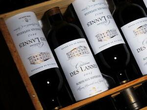 12-Flaschen-Grand-Vin-2013er-Chateau-des-Lannes-aus-perfekter-Vorlagerung