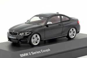 BMW-2-Series-Coupe-Black-official-dealer-model-scale-1-43-new-car-mens-gift