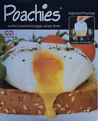 40 x Sealapack Disposable Egg Poaching Bags Perfect Poachies Easy Clean