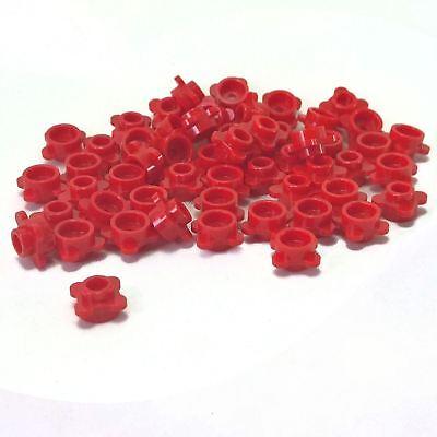 NEW LEGO PLATES Round Flower Edge 4 Knobs Petals Lavender x10 1 x 1