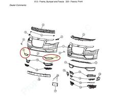 2015 21 Chrysler 300 Black Chrome Fog Lamp Bezels 5xv90szrab 5xv91szrab