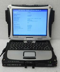 PANASONIC-TOUGHBOOK-Lot-of-5-10-1-034-CF-19-i5-2520M-MK5-2-50GHz-4GB-2GB-lt-cf-2c-gt
