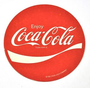 Enjoy-Coca-Cola-Coke-Bierdeckel-Untersetzer-Coaster-USA-Wave-Logo