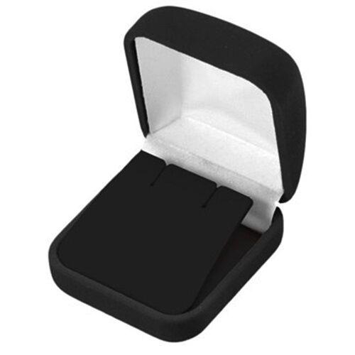 Wholesale Lot of 48 Black Velvet Earring Jewelry Display Packaging Gift Boxes LG
