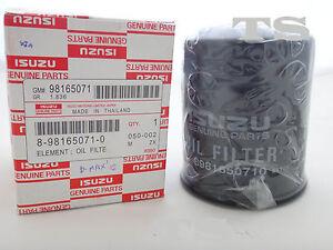 SET ELEMENT OIL FILTER FOR ISUZU DMAX D-MAX 2012-2015 PICK ...