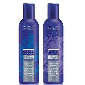 Natural Look ATV Ice Blonde Silver Screen Shampoo & Conditioner 250ml Movie Tone