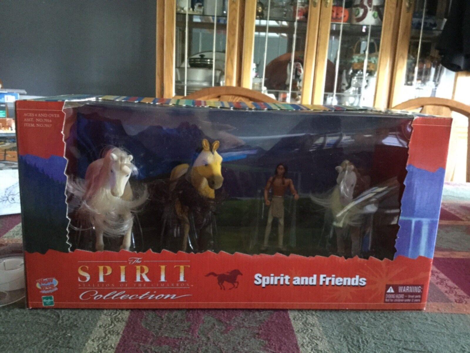 BRAND ny Spirit Stallion of the Cibspringaa SpIRIT and väninnor Flyttade figurer