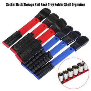 3X-1-4-034-3-8-034-1-4-034-Socket-Rack-Storage-Rail-Rack-Tray-Holder-Shelf-Organizer-JS