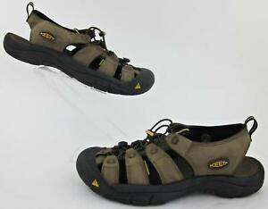 1cf550783317 Image is loading KEEN-Newport-Waterproof-Sandals-Bison-Brown-Leather-US-