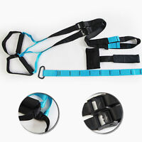 Suspension Trainer Straps Fitness Kit Body Weight Exercise Home Gym