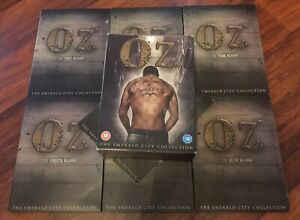 OZ-The-Complete-Season-Series-1-2-3-4-5-6-DVD-Boxset-1-6-Box-Set-Bonus-Disc