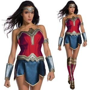 001512db8b3e58 Official Wonder Woman Costume Ladies Justice League Secret Wishes ...