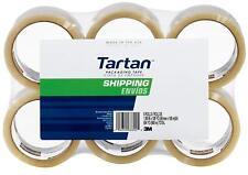 3m Tartan Shipping Packaging Carton Sealing Tape 188 X 10936 Yard 6 Pack