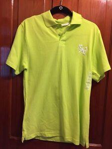 2b58795e L South Pole NWT New Neon Green Polo Boys's Golf Shirt   eBay