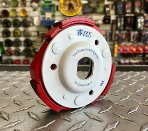 Details about Scooter GY6 150cc High Performance TFC White Racing Clutch