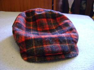 Wigens-Tweed-flat-cap-hat-Size-63