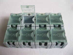 50 pcs SMD SMT Electronic Parts Mini Storage Box High Quality and Practical S2A1