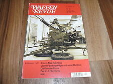 WAFFEN REVUE 97 -- 2,5 cm Flak Hotchkiss / Grabenmesser Mod. 1917 / MG DShK M 38