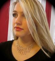 Kate Spade Rare Electric Gardens Earrings Wedding Crystal Formal Necklace Bridal