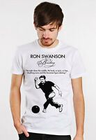 Ron Swanson Funny Bowling Figure Skating Quote Mens T Tee Shirt Parks Manly Gift