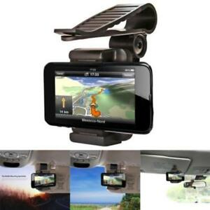 Universal-Car-Rearview-Mirror-Mount-Holder-Stand-Cradle-For-Cell-Phone-GPS-2Y