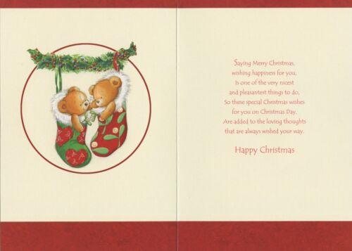 Pour un Spécial Soeur et partenaire Carte de Noël 1STP/&P 5 Designs CARTES DE VŒUX