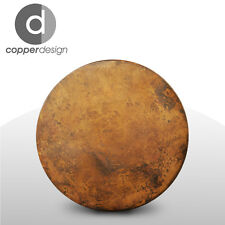 Copper Hand Hammered Round Table Top 72""