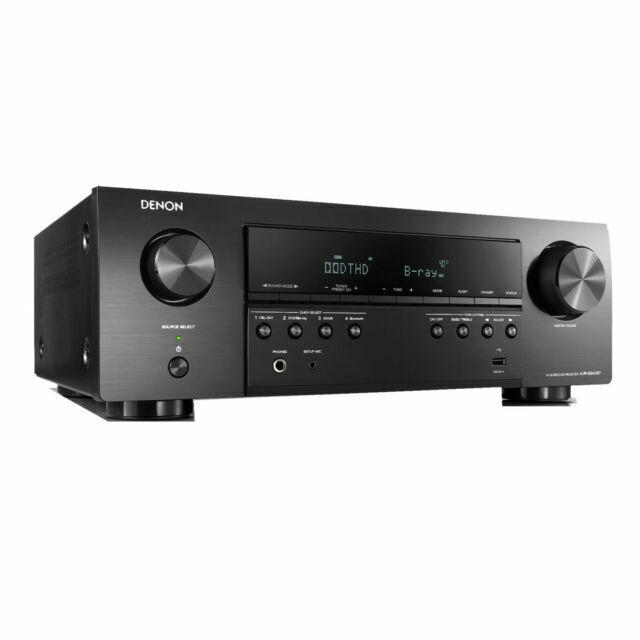 Denon AVR-S540BT 5.2-Channel A/V Receiver - Black
