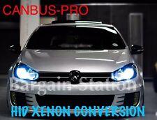 VW GOLF MK6 MK7 PREMIUM H.I.D. XENON CONVERSION KIT CANBUS-PRO 6000k GTD GTi TDi