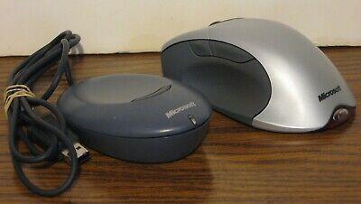 optical metallic gray Microsoft Wireless IntelliMouse Explorer USB wireless receiver 5 button - wireless Mouse s