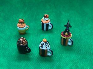 Handmade-Miniatures-Halloween-Cupcake-Ceramic-Mug-cake-Seasonal-Desserts