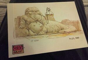 Star-Wars-Galaxy-1993-Jabba-the-Hutt-Topps-trading-cards