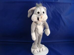 WARNER-BROS-STUDIO-STORES-BUGS-BUNNY-BEAN-PLUSH-WHATS-UP-DOC-NEW-TAGS-1997-NIFTY