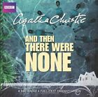 And Then There Were None by Agatha Christie (CD-Audio, 2011)