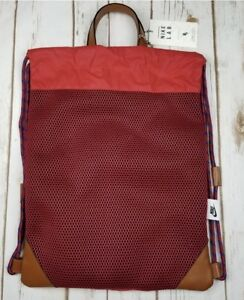 f3ebec0050 Image is loading NEW-Nike-NikeLab-Gymsack-Drawstring-Backpack-Red-AR1255-