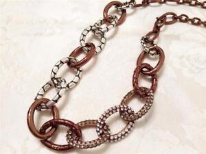 Brighton-Pebble-Pave-Chocolate-Necklace-with-Swarovski-Crystal-new