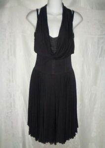 dolce  gabbana black corset overlay dress 40 1k  ebay