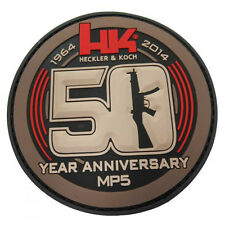 HECKLER KOCH HK 50th Anniversary PVC ACU Embroider Patch P7 M10 M13 USP MP5 SPK5