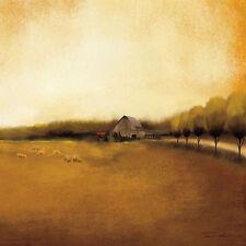 My House Keilrahmen-Bild Leinwand Bauernhaus Landschaft Felder Tandi Venter