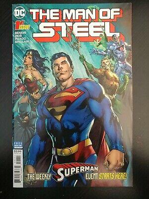 THE MAN OF STEEL 1 2 3 4 5 6 set SUPERMAN BRIAN MICHAEL BENDIS DC COMIC 2018 NM
