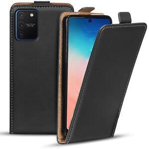 Flip-Cover-fuer-Samsung-Galaxy-S10-Lite-Huelle-Klapphuelle-Handy-Schutz-Tasche-Case