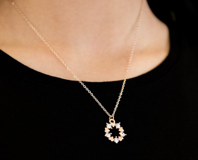New Paparazzi Always Kiss Me Goodnight Rose Gold Necklace Vintage Htf Ebay