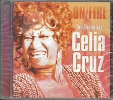 CD 20 TITRES ON FIRE THE ESSENTIAL OF CELIA CRUZ BEST OF 2000 NEUF SCELLE