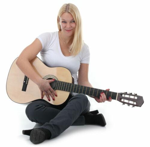 Super klassische Gitarre 7//8 Kinder Ideal für den Einstieg in die Welt der Musik